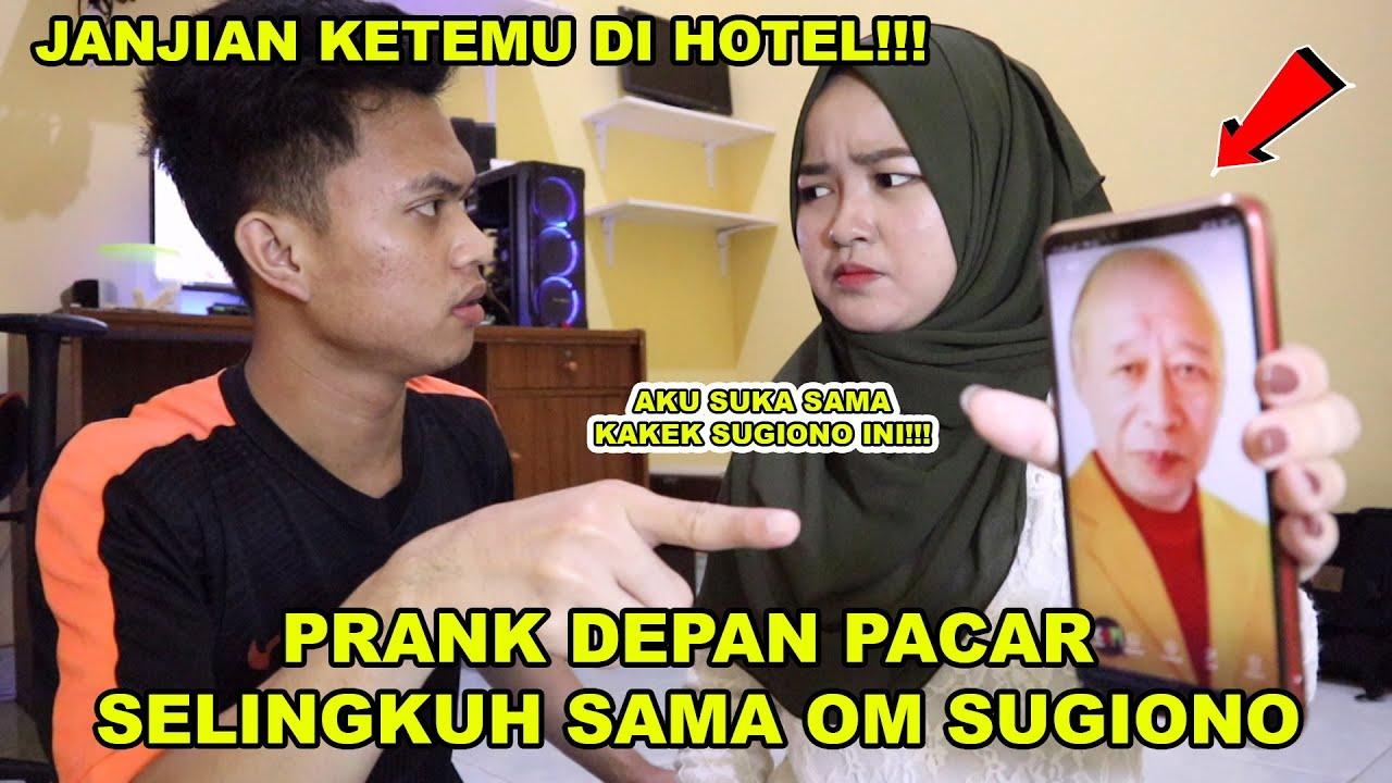 PRANK PACAR JANJIAN KETEMU DI HOTEL SAMA OM-OM!!! || PRANK TERNEKAT!!!