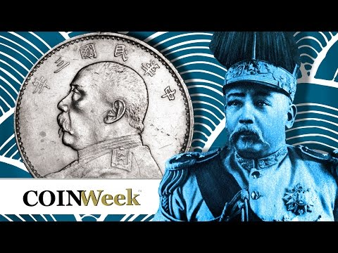 CoinWeek: Chinese 1914 Yuan Shikai Silver Dollar Discussed by Jessie Zhang. VIDEO: 4:42.