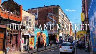 Brick Lane Market - London- Phone X w/ Zhiyun Smooth Q 4K // FREE LUT