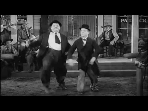 Laurel und Hardy tanzen zu Andreas Gabalier
