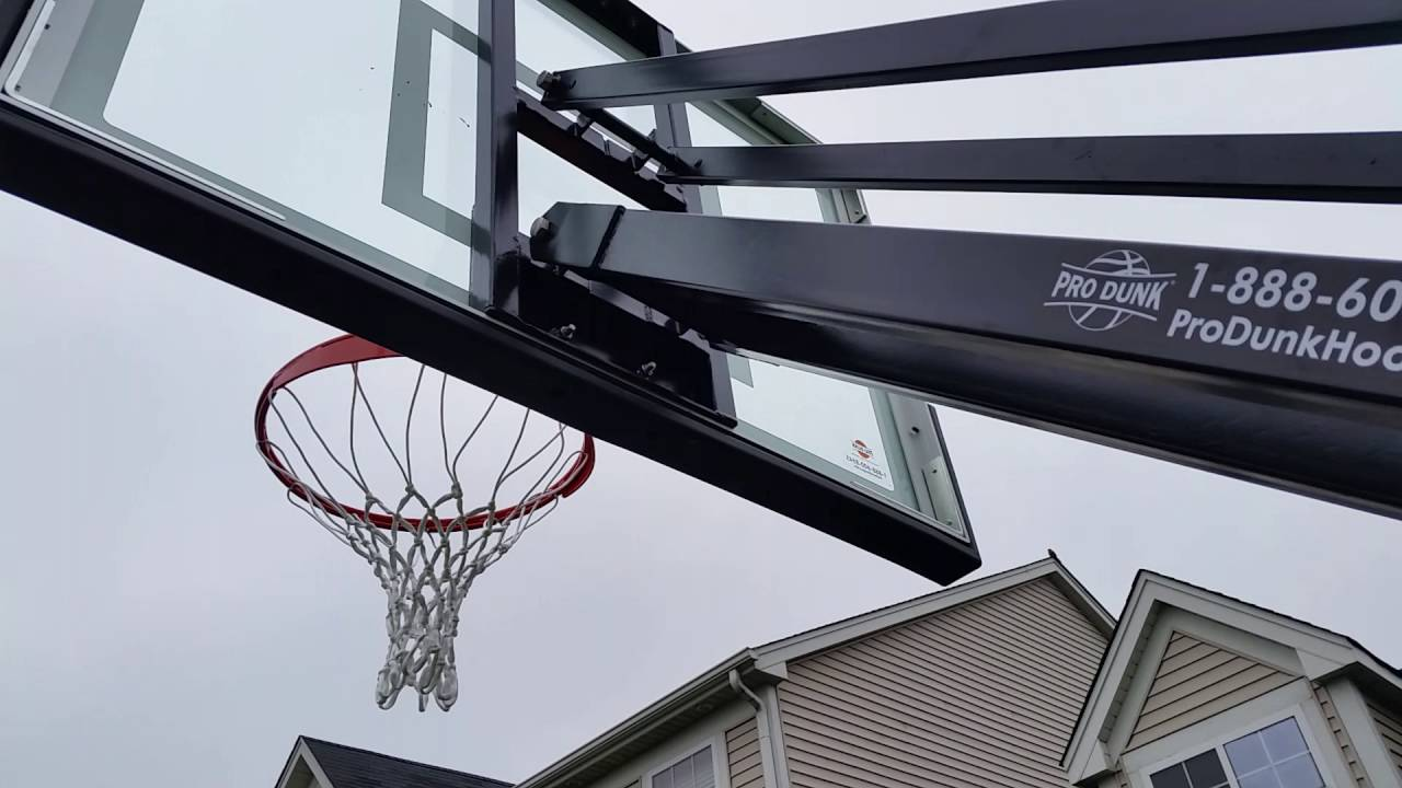 Pro Dunk Silver Adjule In Ground Basketball Hoops