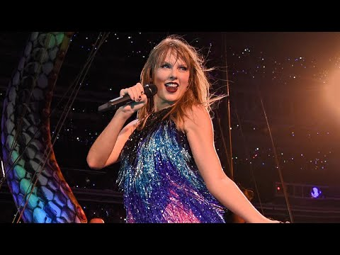 Watch Taylor Swift Trip on Stage Mid-Concert and Laugh It Off Like a Pro