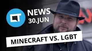 Minecraft vs LGBT; Xperia XZ Premium chega ao Brasil com tela 4K e+ [CT News]