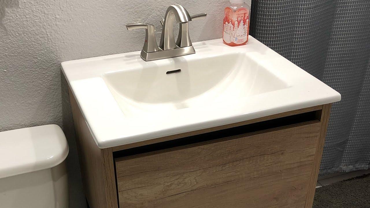 bathroom vanity installation menards bathroom vanity bathroom sink install