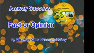 Gambar cover Shrawan Kumar Poonam Dubey Fact or Opinion Amway Success @