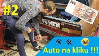 #2 - SCRIMP MY RIDE: Oprava startéru a baterie za pár korun