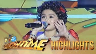 It's Showtime: Lea Salonga Mini Me impresses with her version of