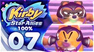 PON & CON! Kirby Star Allies - 100% Walkthrough: Jambastion | Part 7!