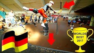GERMANY'S BEST INDOOR SKATEPARK ON SCOOTER!