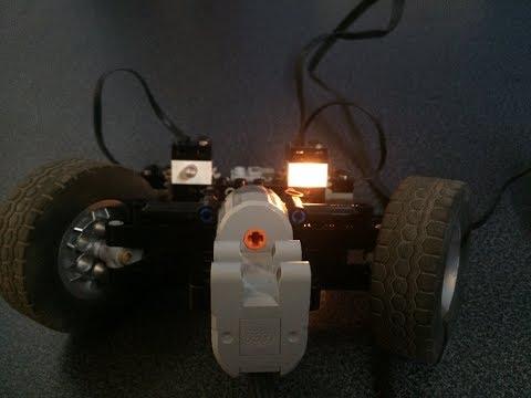 Lego steering lights