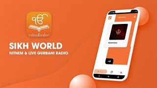 Sikh World - Nitnem & Live Gurbani Radio - Android App on Google Play screenshot 5