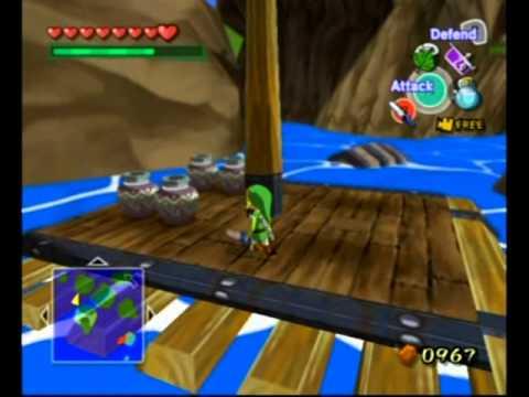 The Legend Of Zelda The Wind Waker Greatfish Isle Secrets