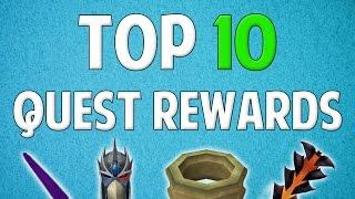 Runescape 2016 | Top 10 Quests (Rewards)