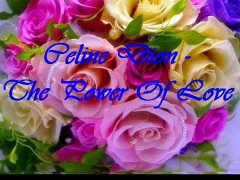 Famoso buon anniversario di matrimonio, Celine Dion - The Power Of Love  LC63