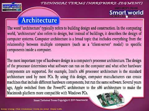 Architecture Technical Terms