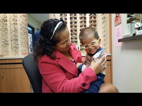 La reacci�n de mi beb� al ver con lentes por primera vez - Hipoton�a