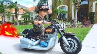 Сеня и Сборка Нового Мотоцикла. Истории для Детей