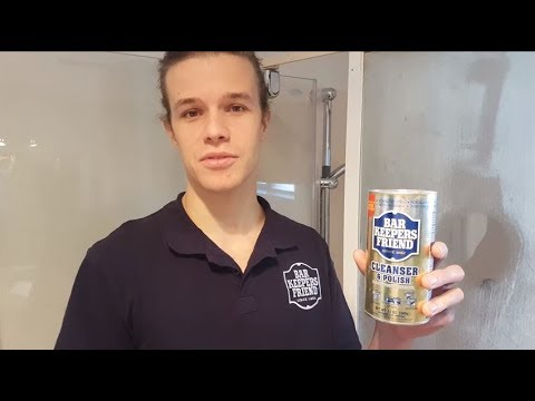 Bar Keepers Friend Guide to Removing Residue from Shower Doors
