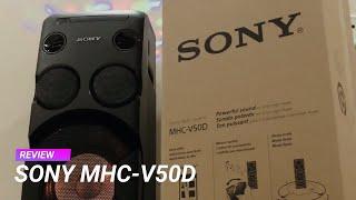 Sony MHC V50D review - जबरदस्त ऑडियो सिस्टम