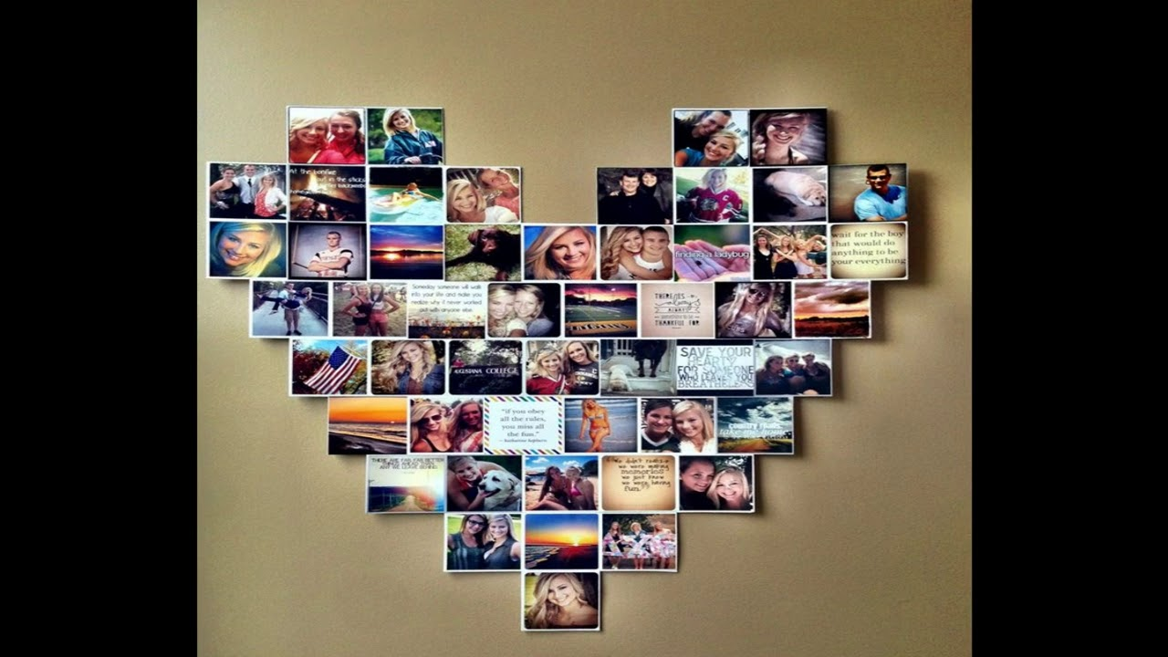 Charmant Bedroom Wall Collage Ideas