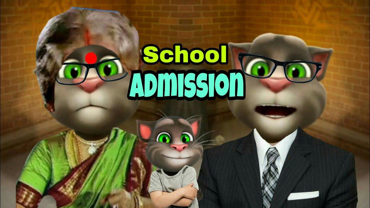 Download A Joke of School Admission 😂😜  Telugu Mitrudu  Talking Tom Comedy Videos