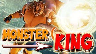 Monster KING   Tekken 7   Lee Chaolan vs. King   Online Match