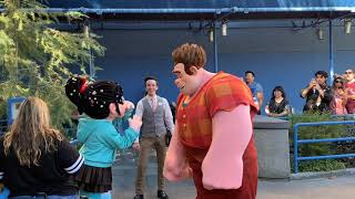 Ralph and Vanellope Meet and Greet - Ralph Breaks the Internet - Disney California Adventure