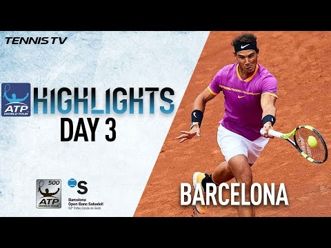 Thumbnail: Nadal Spaniards Steal The Show In Barcelona 2017 Highlights