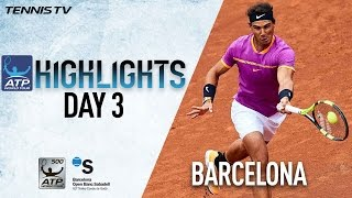 Nadal Spaniards Steal The Show In Barcelona 2017 Highlights