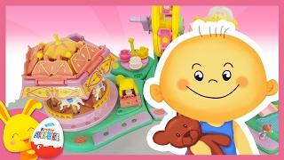 Parc d'Attraction - Manège - Histoire de jouets Polly Pocket pour enfants - Titounis - Touni Toys