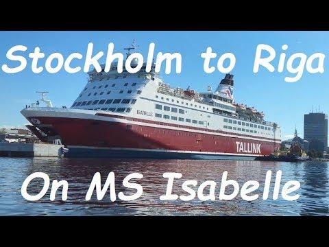 stockholm riga ferry cheap
