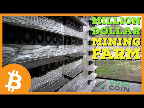 How He Went From Working In A Casino To A MILLION DOLLAR Cryptocurrency Bitcoin Mining Farm?!