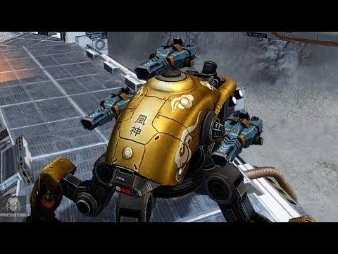 Fujin Storm Obliterating New Bots | 1.9 Million Damage | War Robots