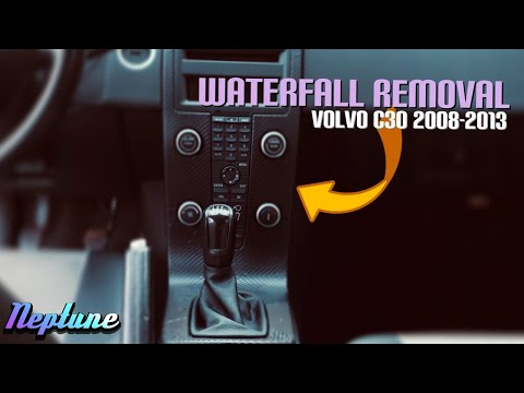 Volvo C30 // How To Remove Waterfall (2008-2013)