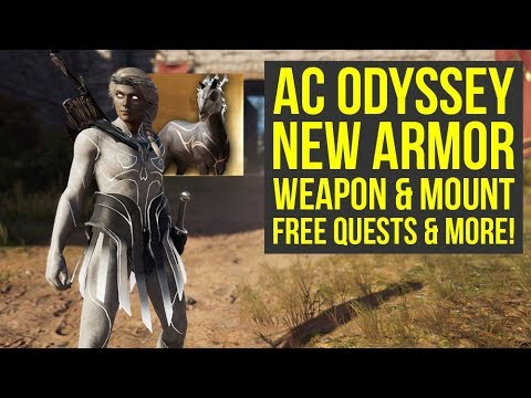 Assassin's Creed Odyssey Celestial Pack - NEW ARMOR, Weapon, Quests & More! (AC Odyssey Celestial) thumbnail