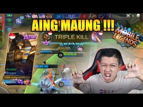 RATA SAMA SKIN GAGAH ROGER MAUNG !!! - Mobile Legend Bang Bang