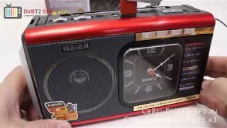 Meier M-U40 - обзор радиоприёмника с SD и USB