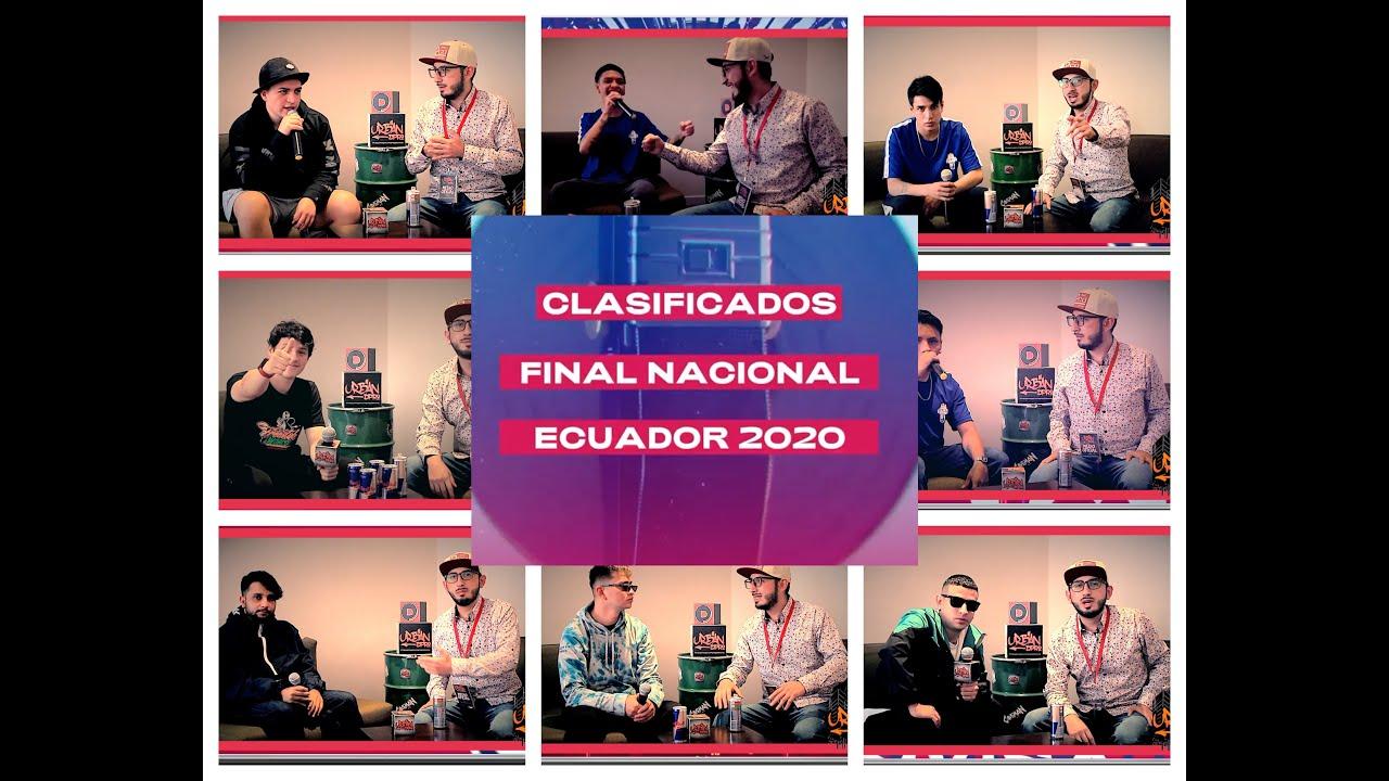 Urban DPro  tuvo la exclusiva con los Finalistas de la  FINAL NACIONAL Red Bull 2020
