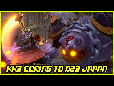 Kingdom Hearts III News Update - There will be no KH2.9, D23 Expo Japan and more!