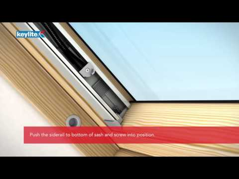 How to Install Keylite Solar Blinds