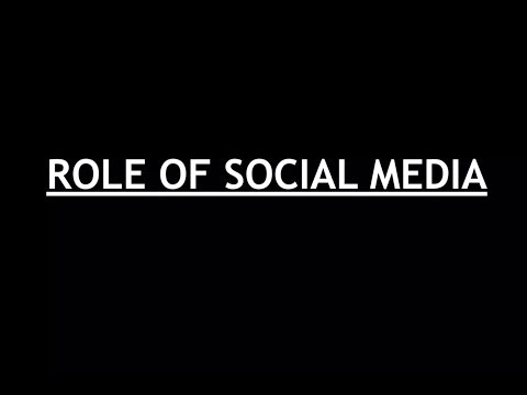 Internal Security for UPSC MAINS - Role of Social Media