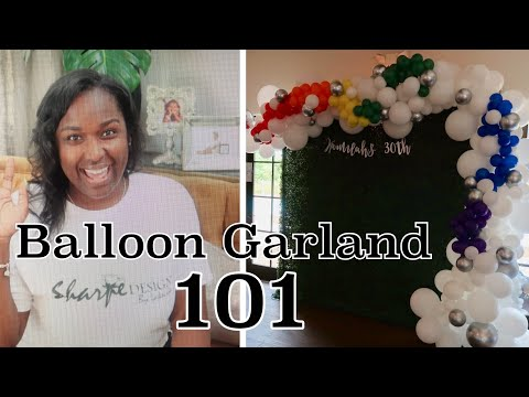 Balloon Garland 101 Tips and Tricks | Frequent Questions Answered
