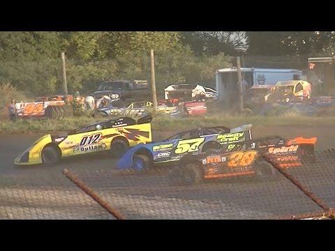 360 Late Model Heat One | Genesee Speedway | 9-3-16