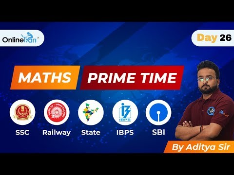 Maths Prime Time by Aditya Sir Day#26 thumbnail