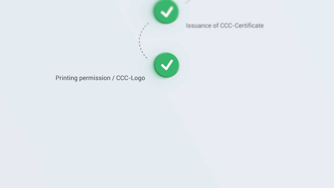 ECCS - CCC Certificate (China China Compulsory Certification) - YouTube