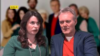 Anthony Head & Eve Myles | Can I be in Ab Fab? | You, Me & Them