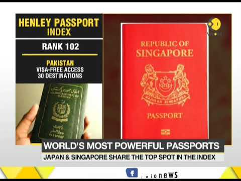 Henley passport index ranks India 81 among 105 nations