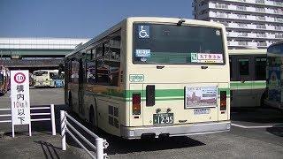 大阪シティバス 前面展望  10号系統  守口車庫前行き   天満橋~守口車庫前