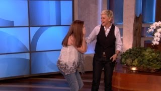 Ellen's Adorable One Direction Golden Ticket Winner!