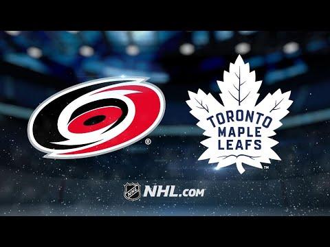 Jooris, Teravainen propel Hurricanes past Leafs, 6-3
